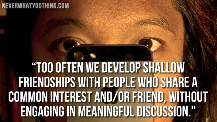 Technology Management Image: How Does Technology Affect Human Relationships. How